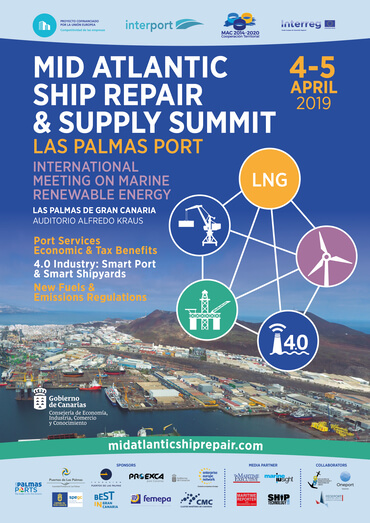 "ENAGAS y Oman Shipping Company participarán en la ""Mid Atlantic Ship Repair & Supply Summit"""
