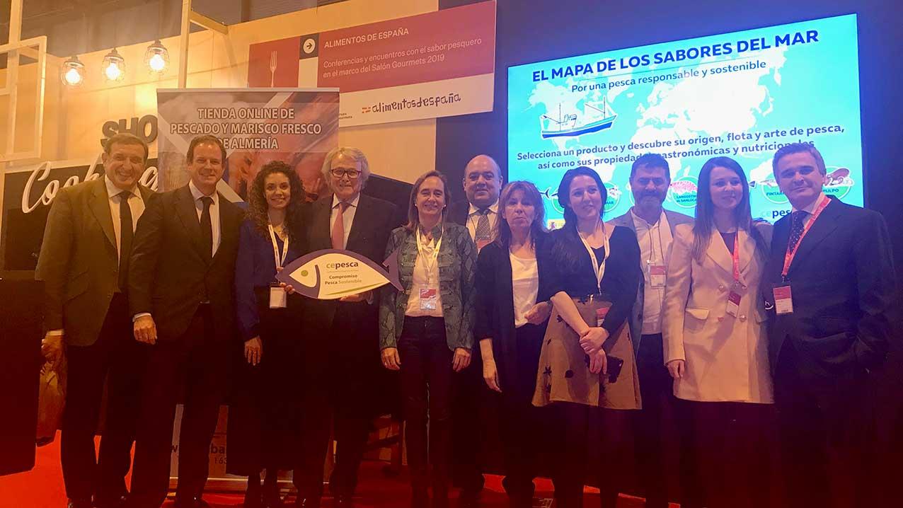 """Cepesca presenta """"El mapa de los sabores del mar"""" en el Salón de Gourmets 2019"""
