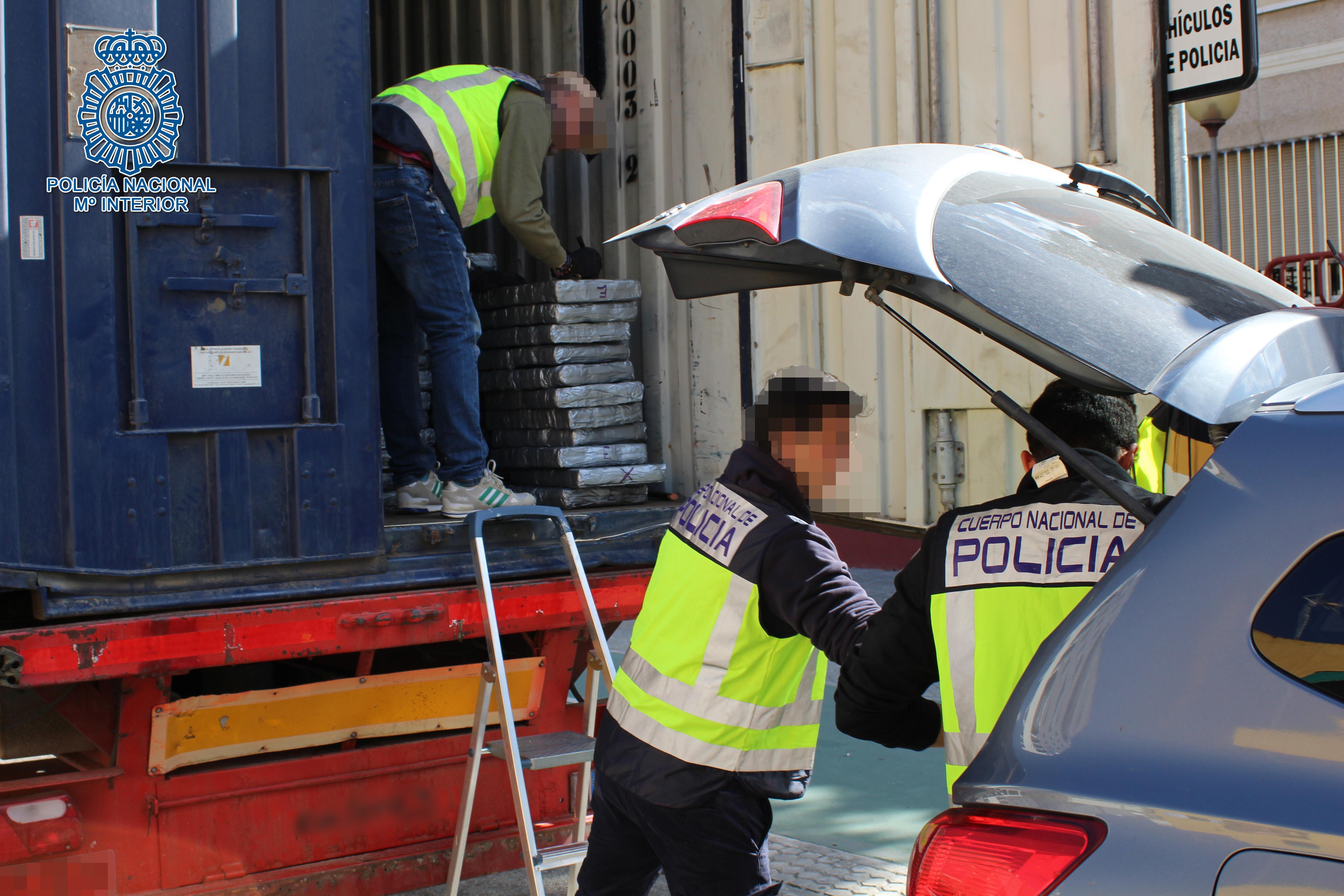 La Policía intercepta un tráiler con 1.500 kilos de hachís