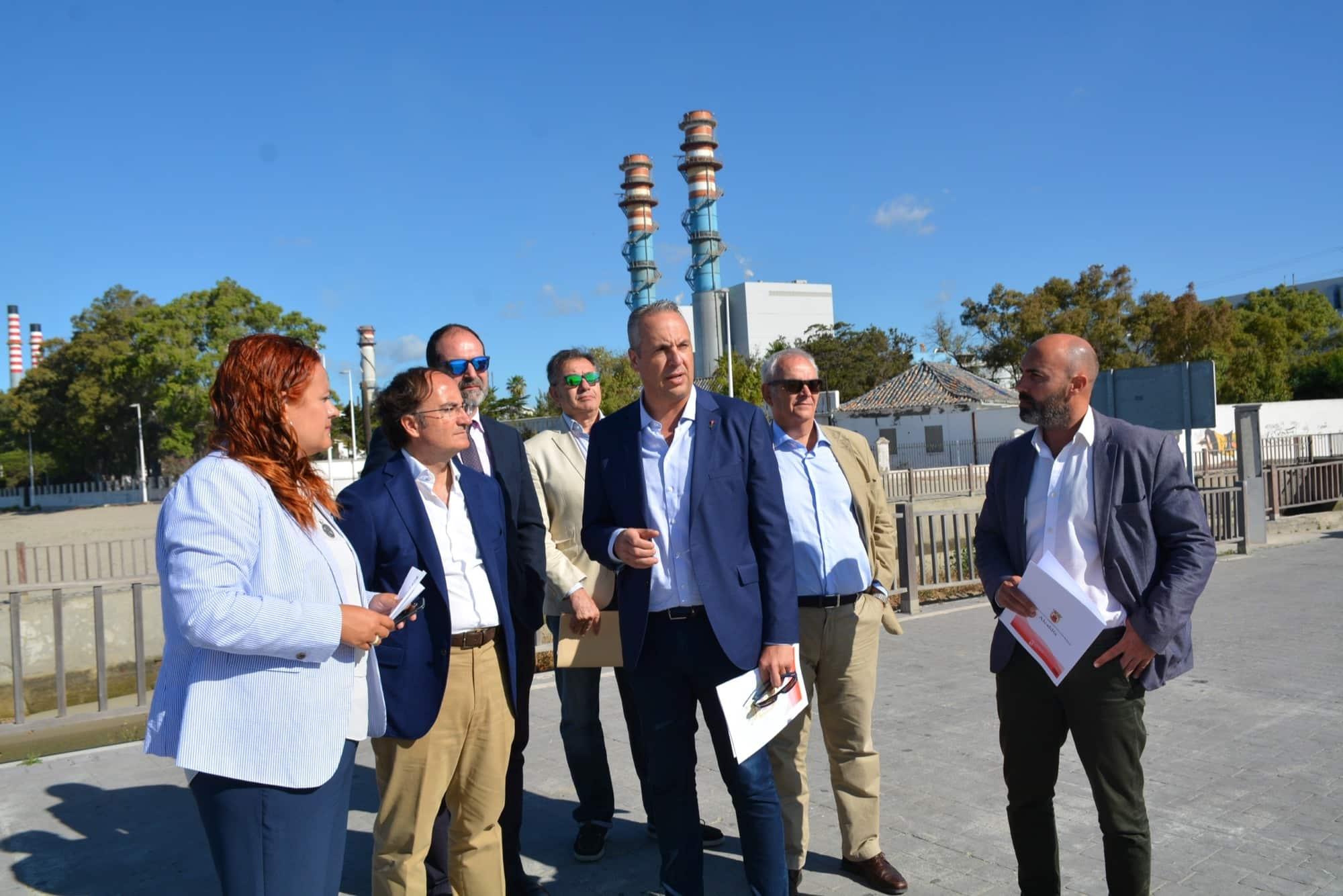 El presidente de la APBA visita el litoral sanroqueño