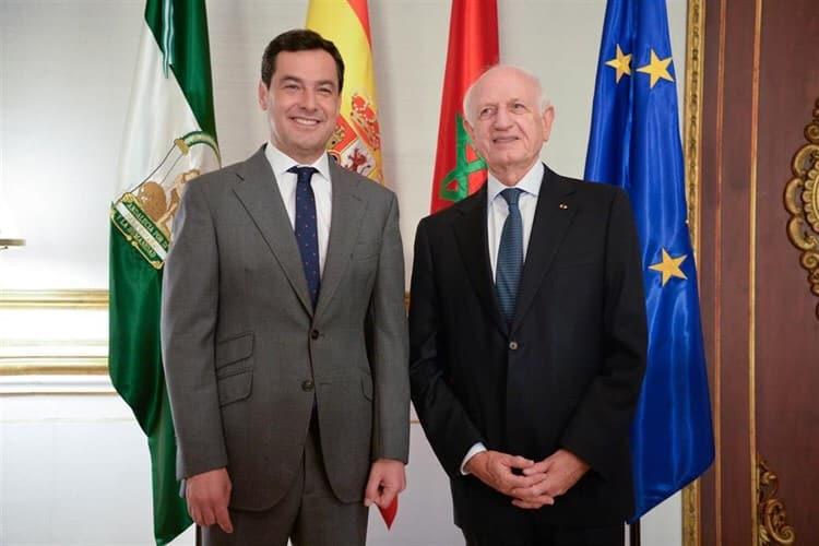 Gerardo Landaluce acompañará al presidente de la Junta en su primer viaje oficial a Marruecos