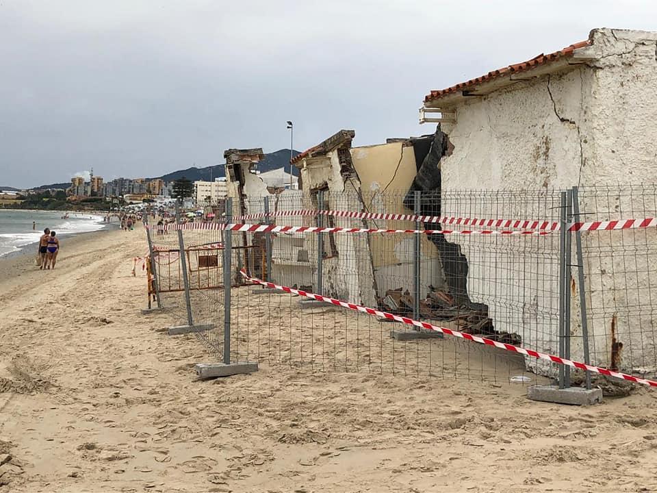 El Ayuntamiento, a la espera de Costas para actuar en las casas afectadas por el temporal en el Rinconcillo