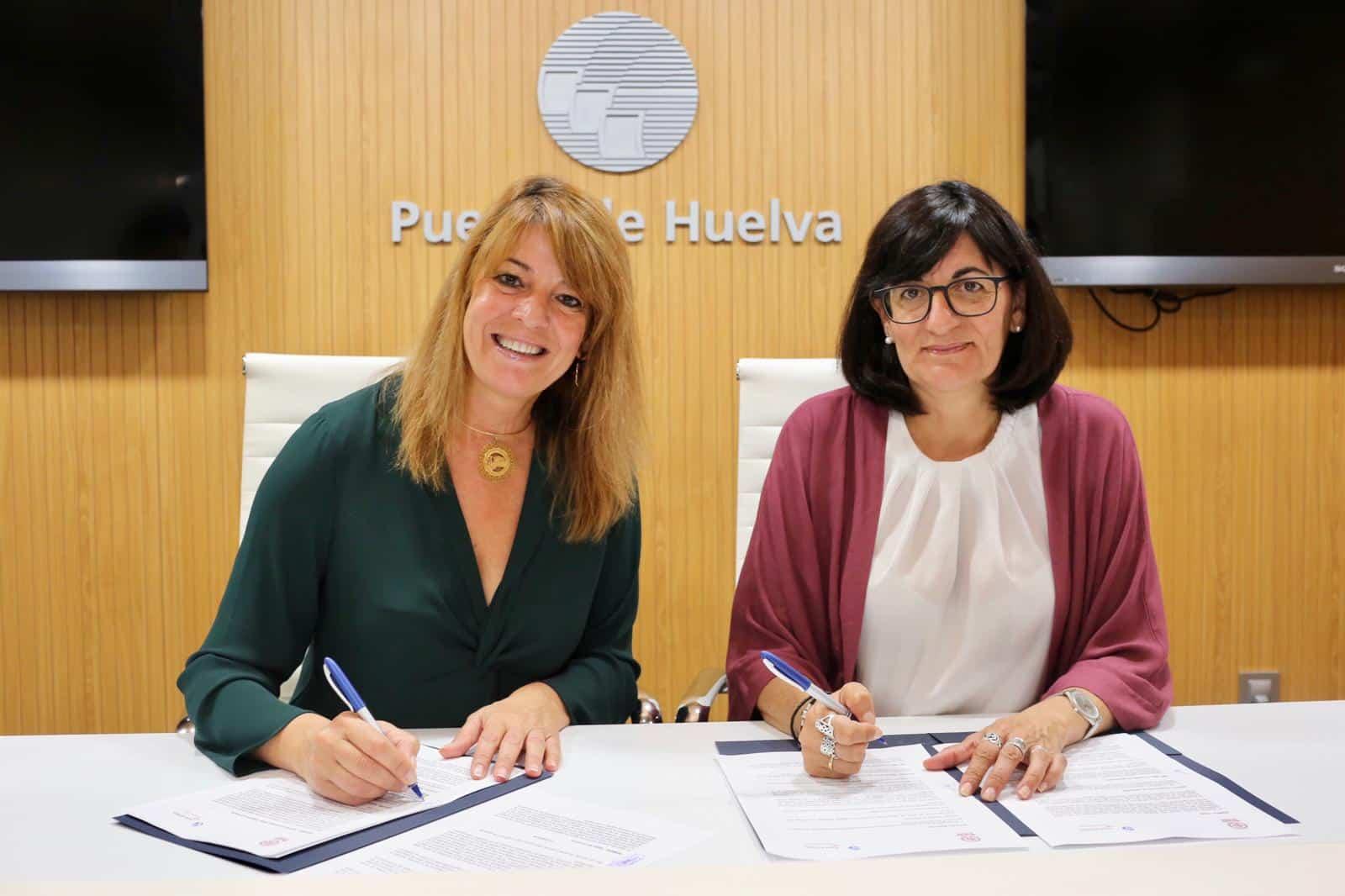 Autoridad Portuaria y Universidad de Huelva firman un convenio de prácticas relacionado con el ámbito portuario