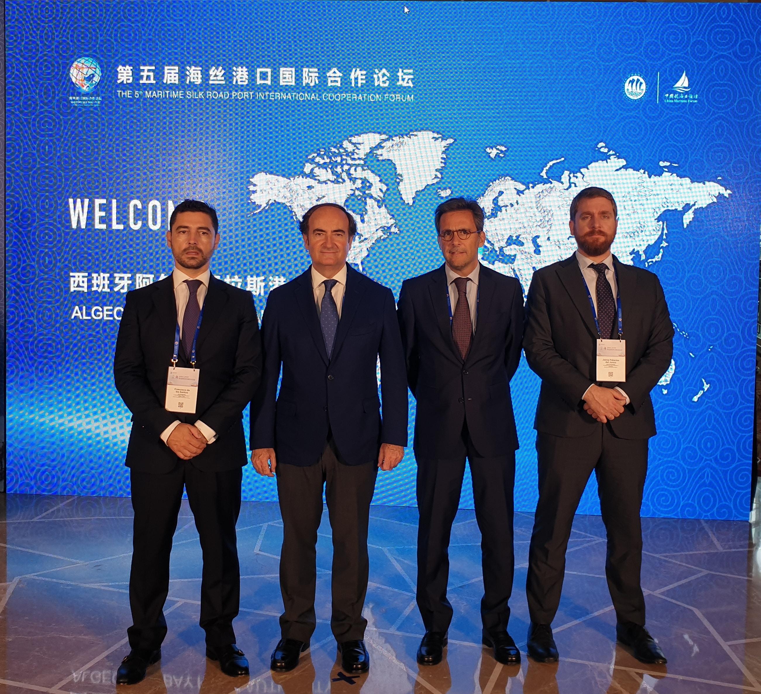 La Innovación digital de la APBA, protagonista en Ningbó