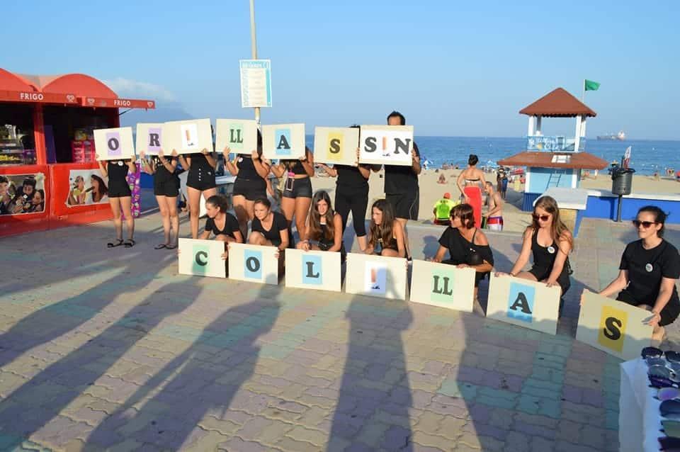 Barrio Vivo recoge unas 8.000 colillas en la playa de Getares