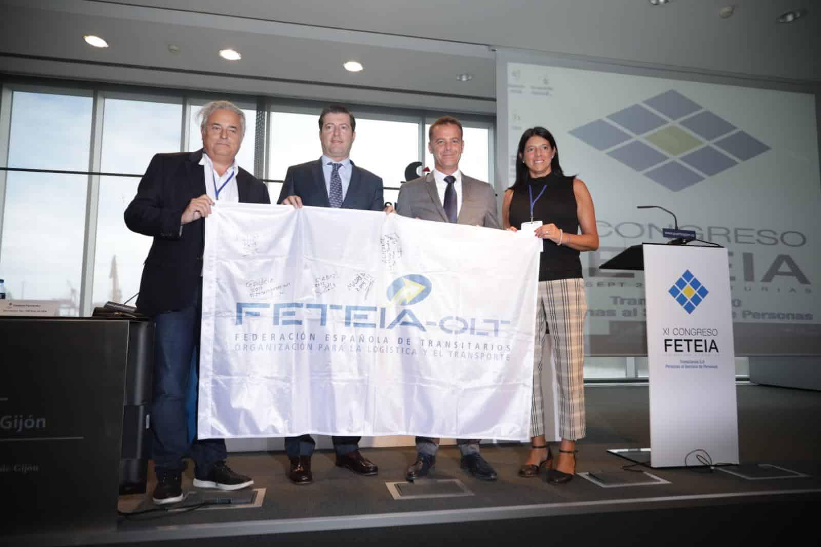 Cózar, ilusionado con la organización en Algeciras del próximo congreso de FETEIA