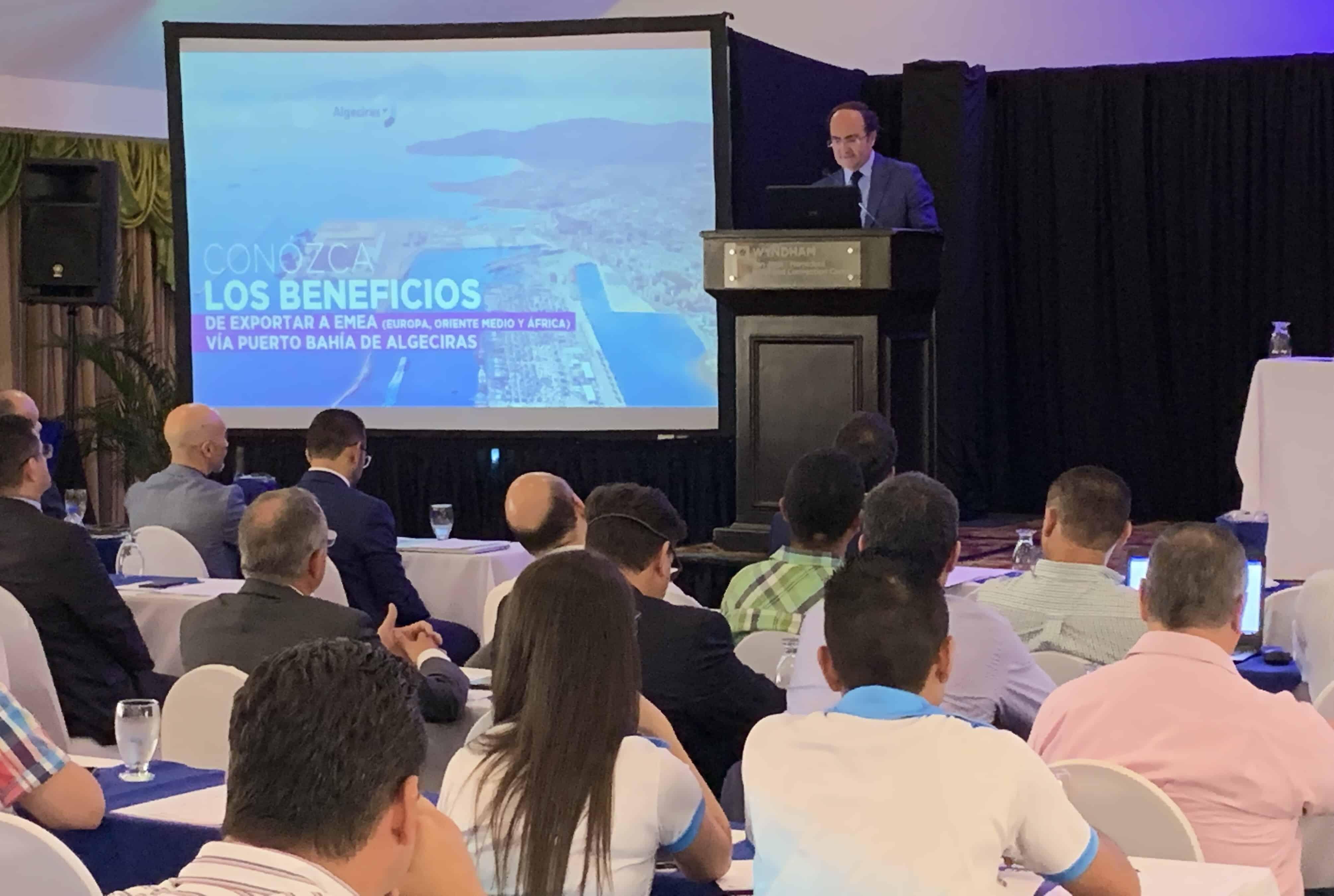 """Las """"Claves para exportar vía Algeciras"""" centra una jornada técnica en San José de Costa Rica"""