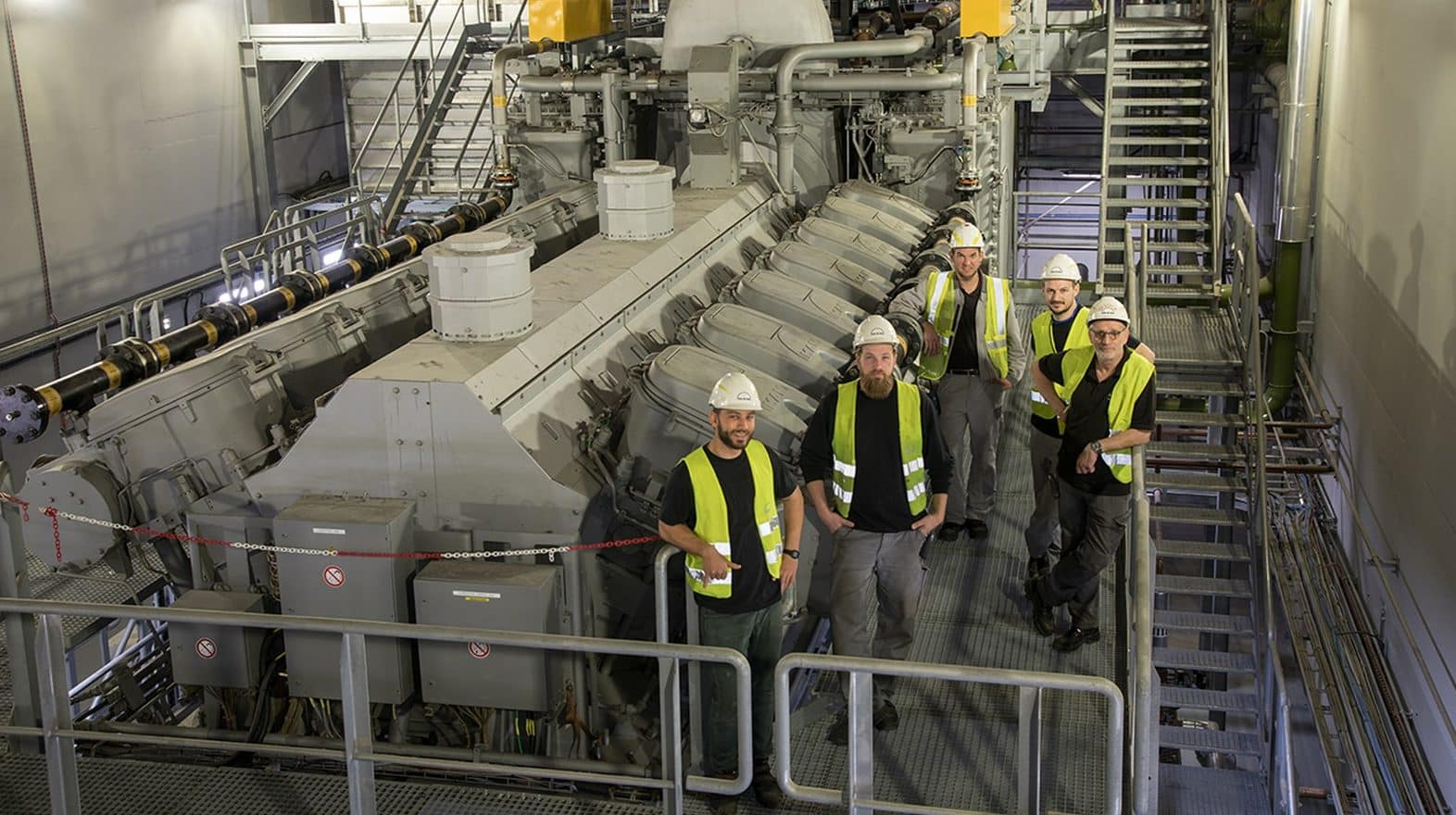 Inaugurada la central eléctrica de Gas Natural Licuado de Gibraltar