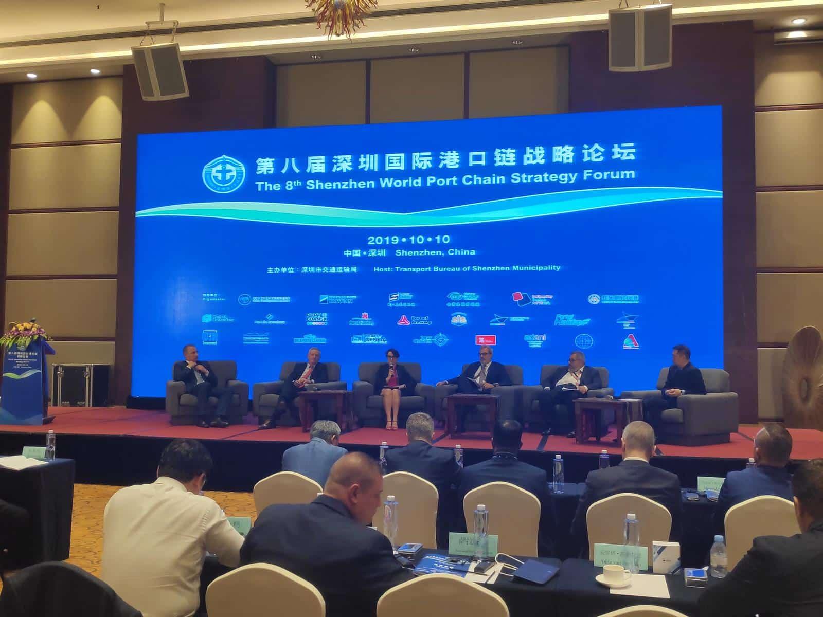 Valenciaport muestra en Shenzhen su elevada conectividad para el tráfico con China