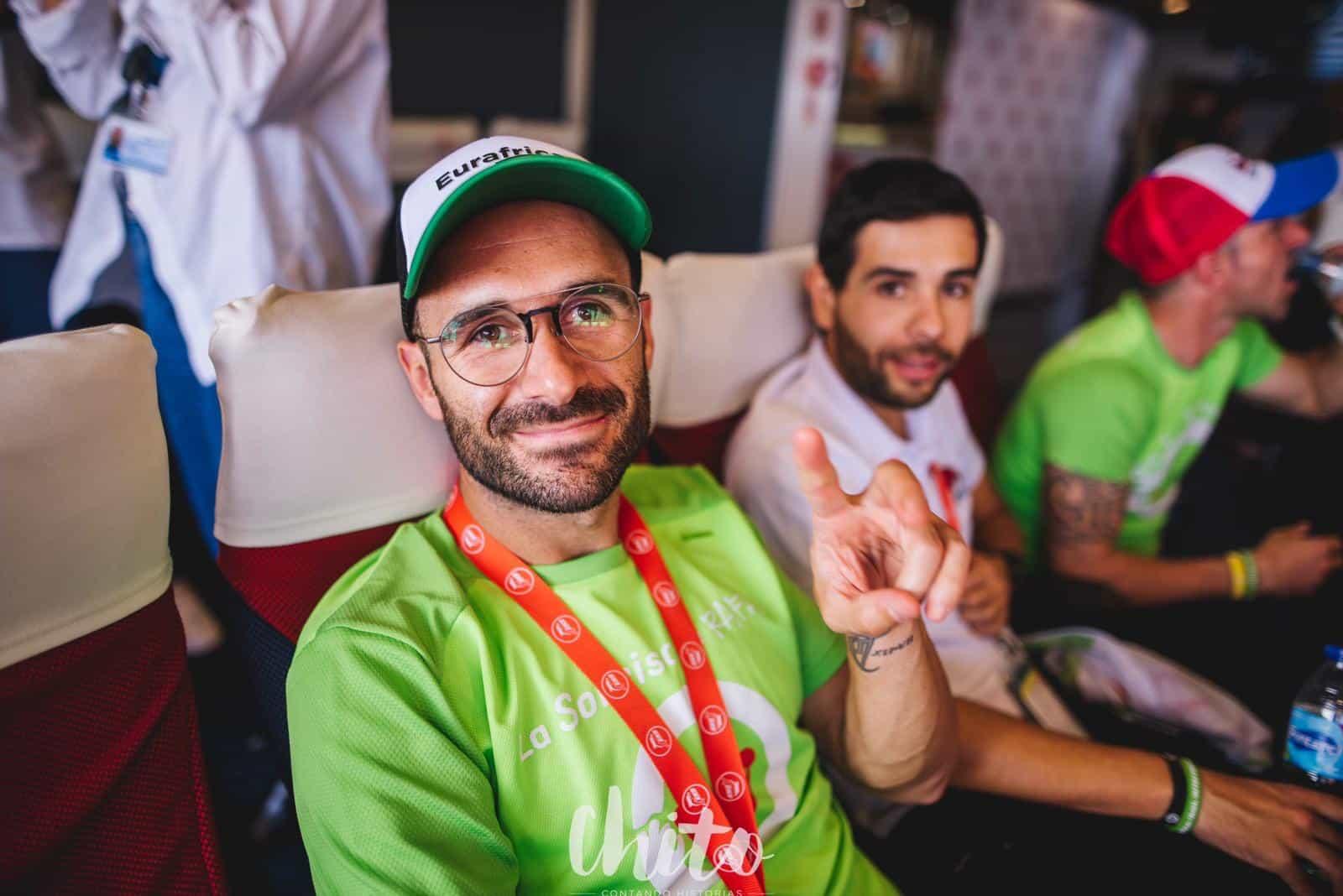 FRS posibilita el traslado de los 450 corredores de la Eurafrica Trail