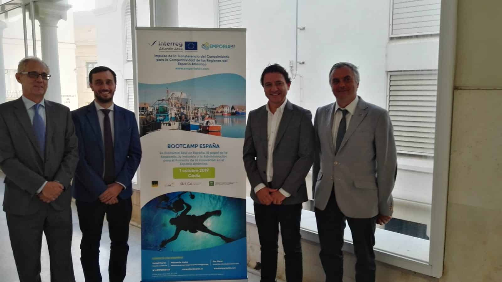 CENTA, CTA y CEI·Mar reúnen en Cádiz a expertos en Economía Azul