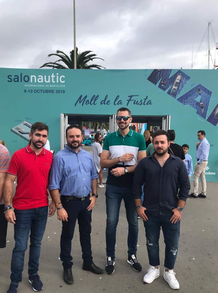 Socoservis renueva su equipamiento de salvamento en playas en el Salón Náutico Internacional de Barcelona