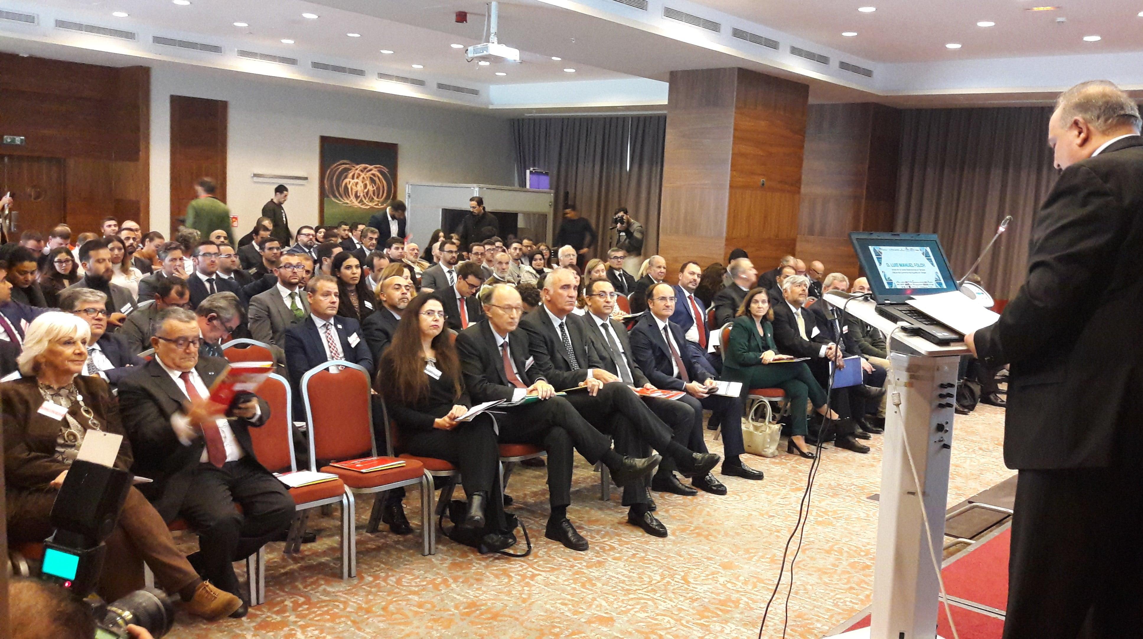 El enlace marítimo Algeciras - Tánger Med protagoniza la primera ponencia del VIII Encuentro Hispano-Marroquí