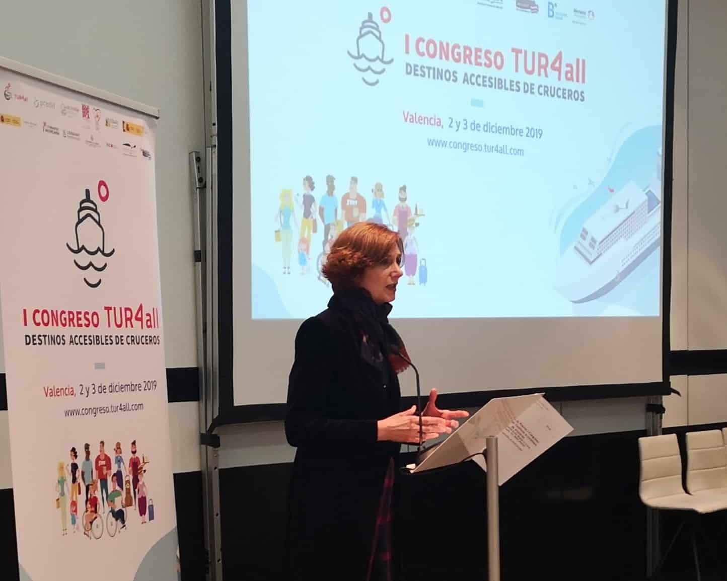 Valencia organiza el I Congreso Internacional de Destinos Accesibles de Cruceros
