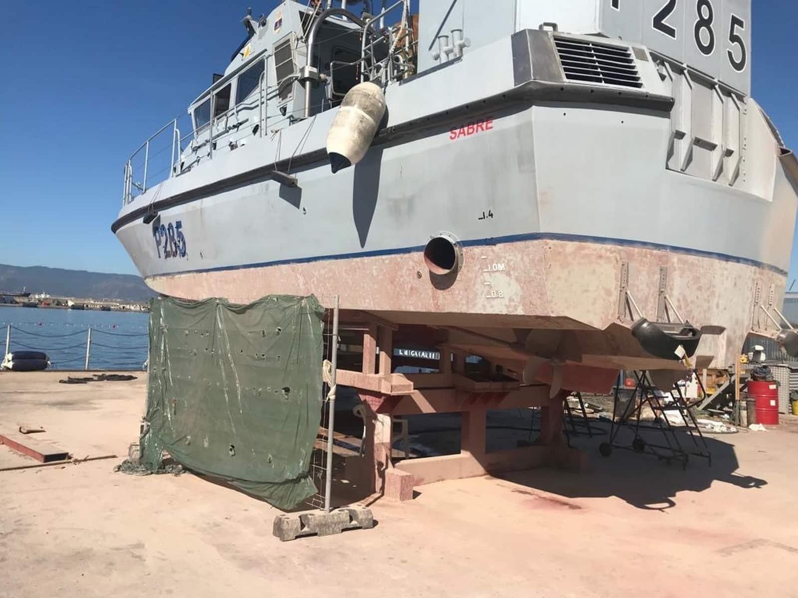El HMS Sabre, de nuevo en servicio