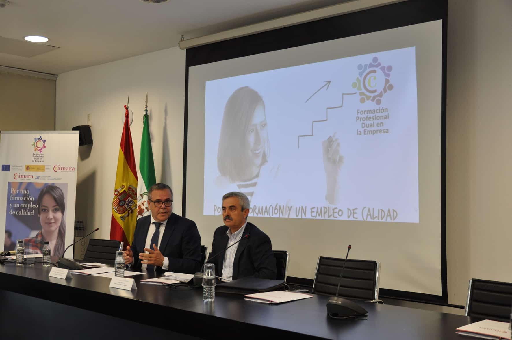 La Cámara de Comercio conecta a empresas y Centros Formativos para impulsar la FP Dual
