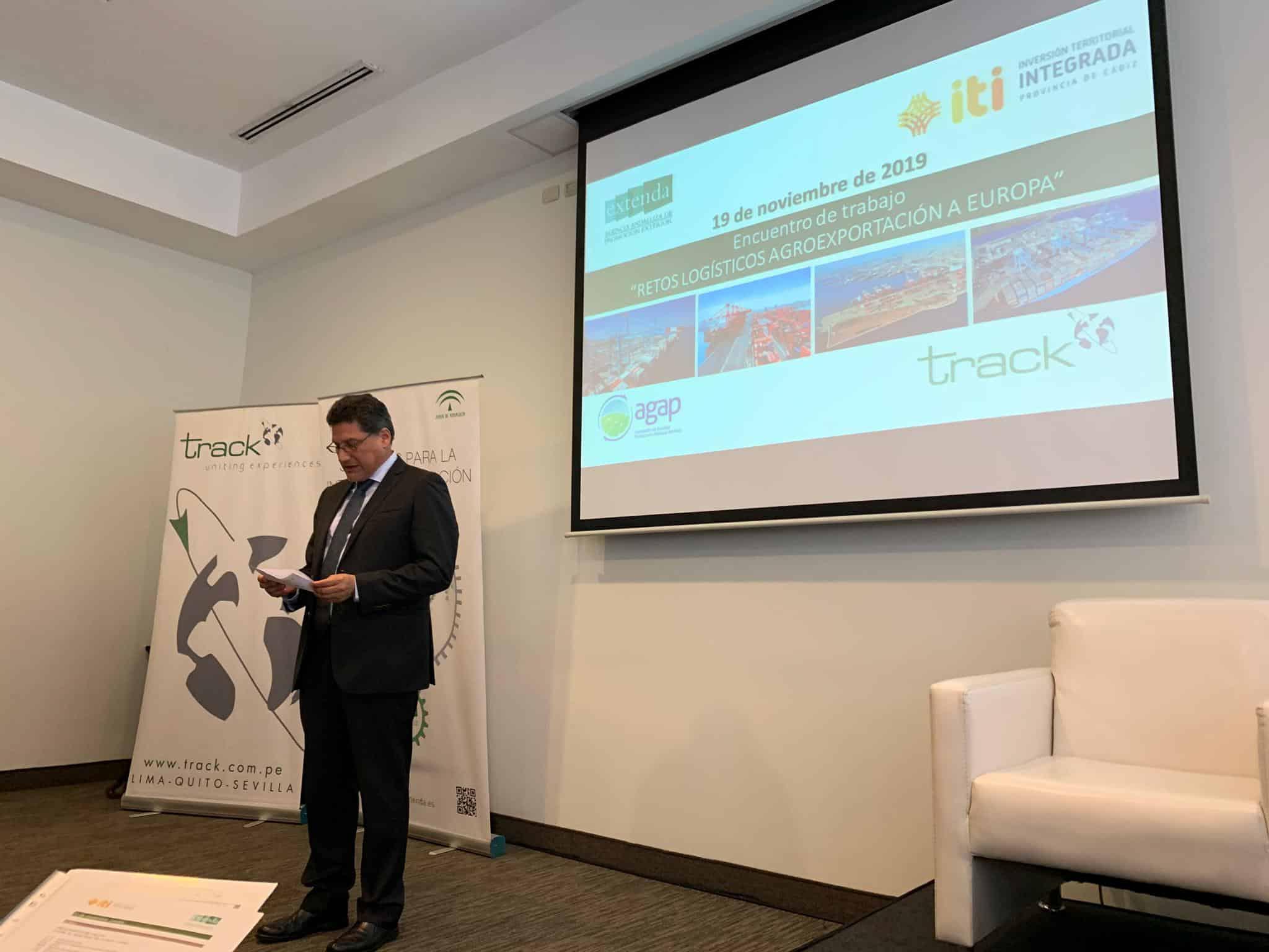 La agroexportación a Europa centra la primera jornada de la misión a Perú del puerto de Algeciras