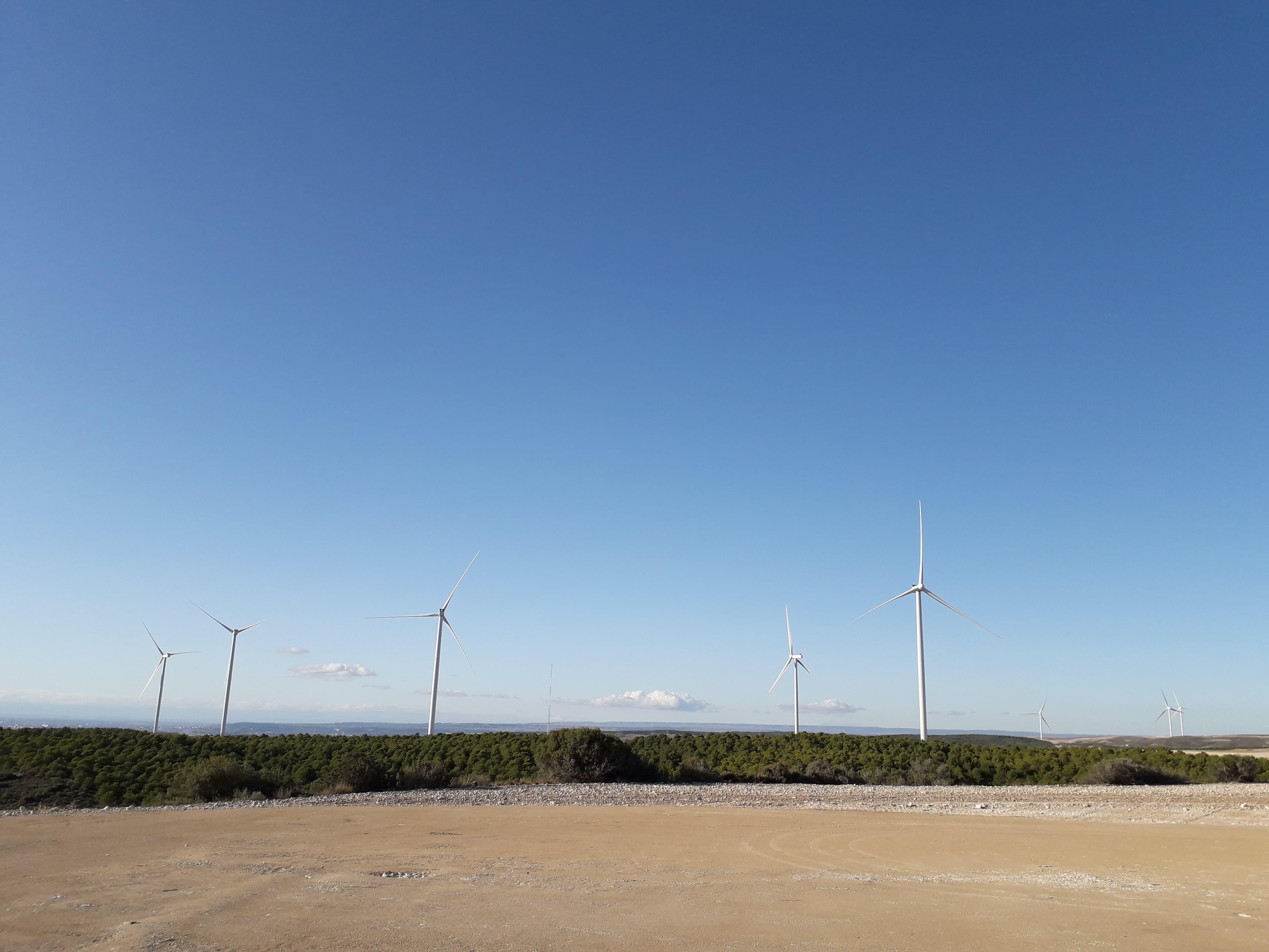 Enel Green Power España conecta a la red, dos parques eólicos en Zaragoza