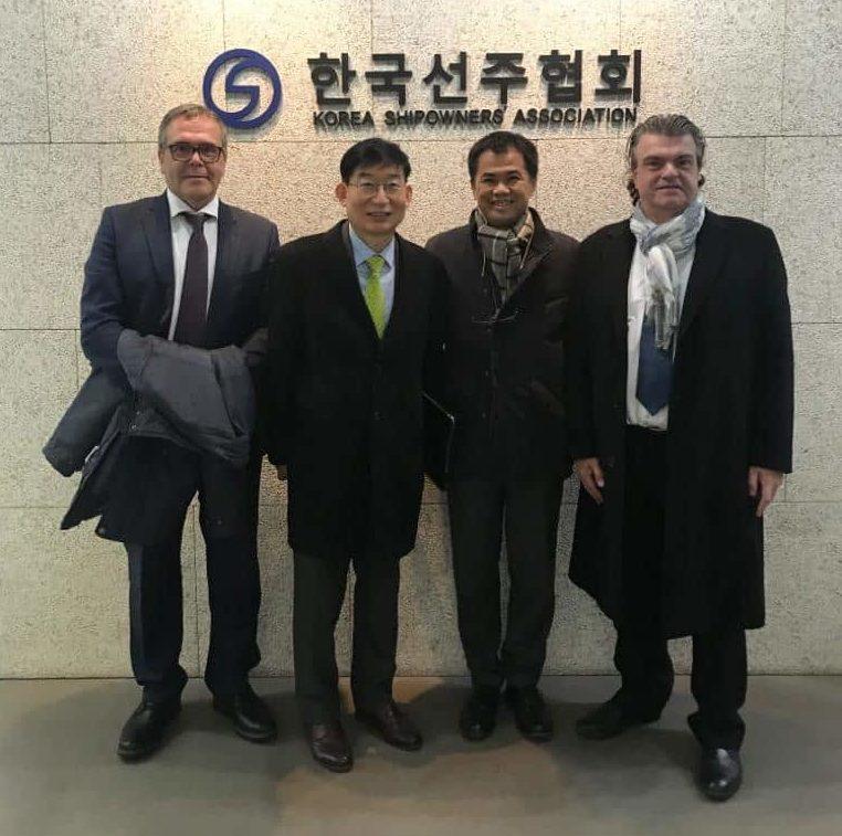 Mertramar vive con entusiasmo la misión comercial culminada en Coreal del Sur