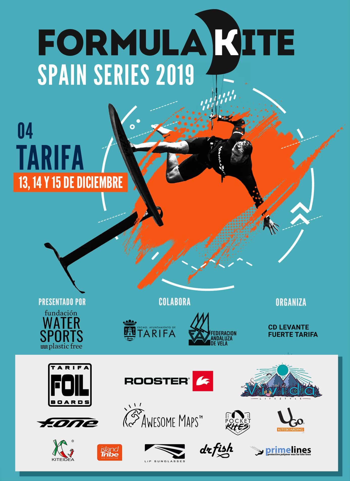 'Formula Kite Spain Series' cierra en Tarifa el año 2019
