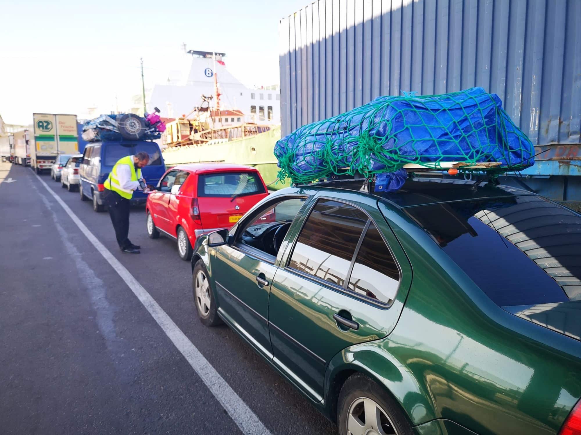 La Autoridad Portuaria de Almería aumenta un 182% el transporte de automóviles hasta octubre