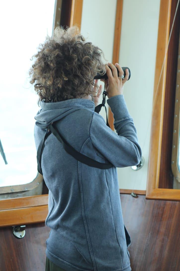Nereide y Ecolocaliza forman en Tarifa a voluntarios del proyecto que estudia los cetáceos en el Estrecho