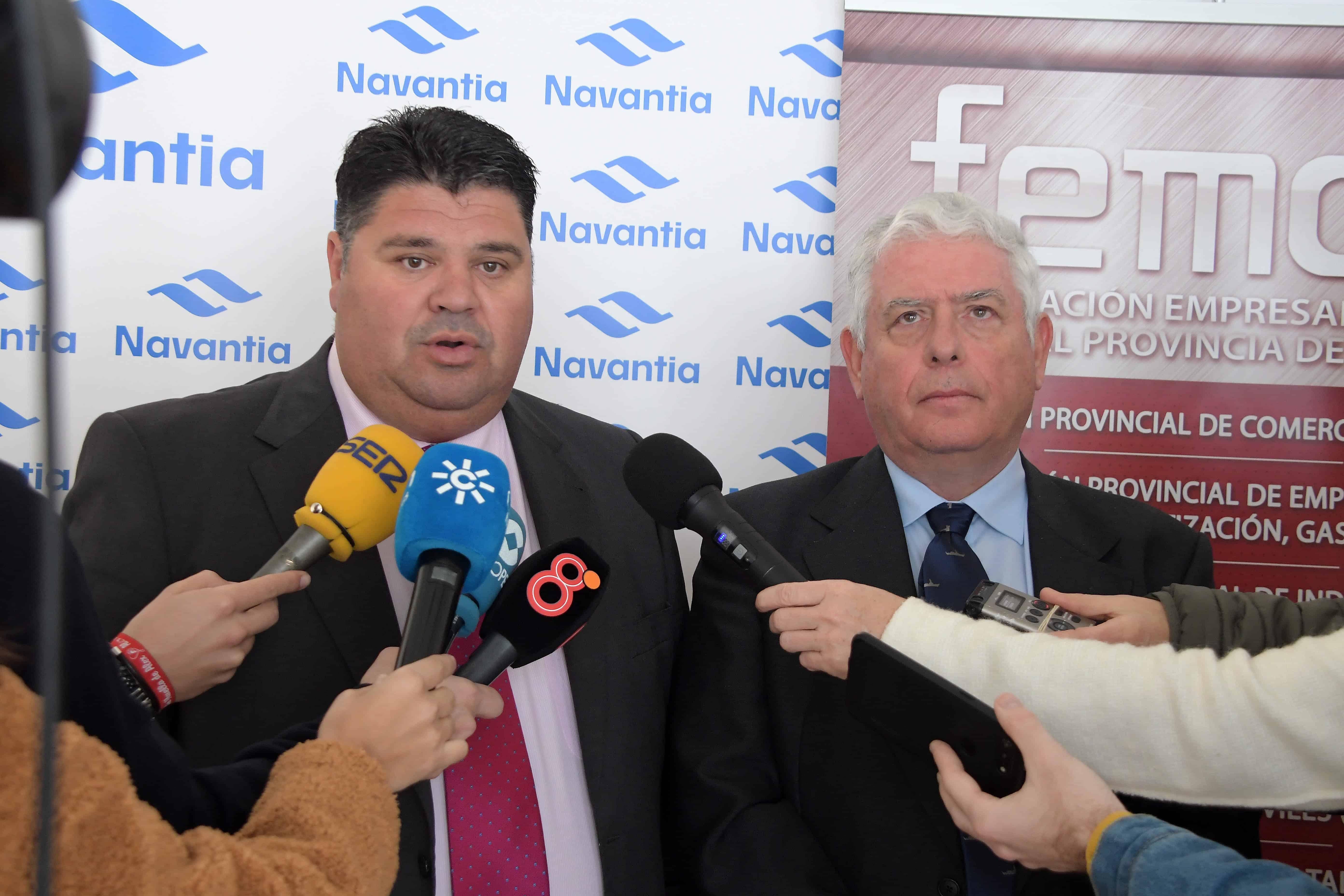 Navantia y empresarios apoyarán el sector de reparación de cruceros