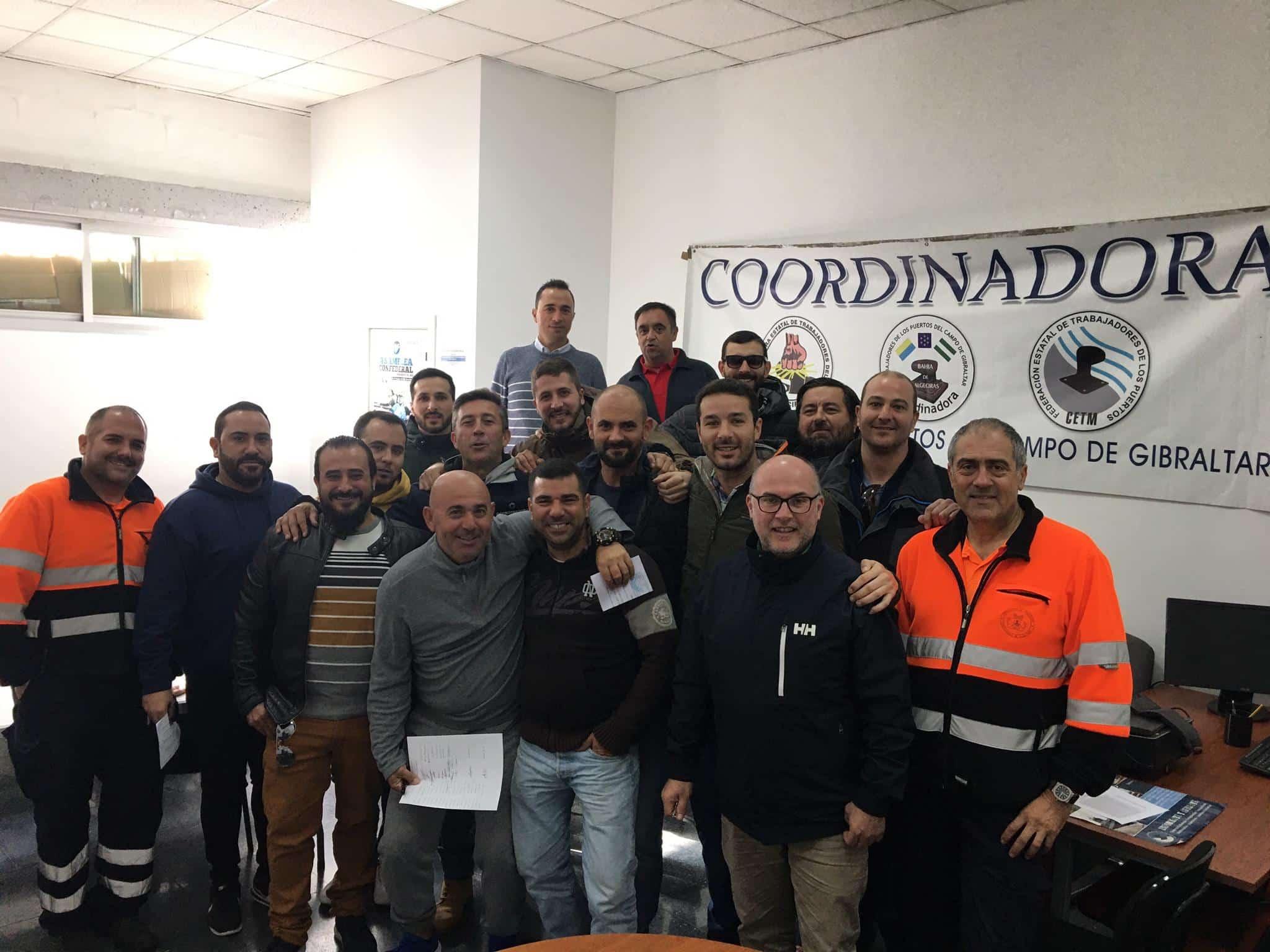 La Corporación de Prácticos del puerto de Algeciras celebra su nuevo convenio colectivo