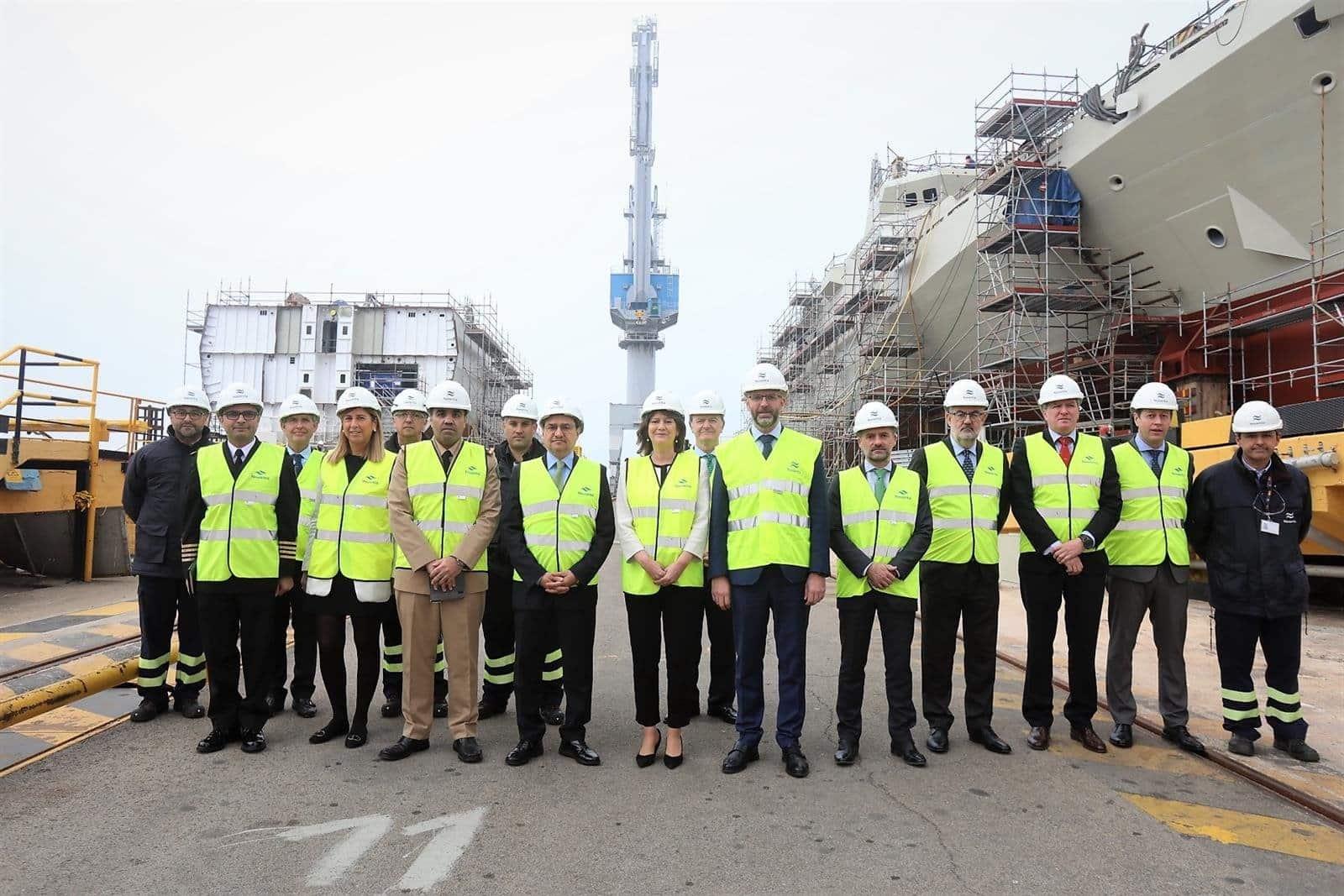 El embajador de Arabia Saudí en España visita Navantia