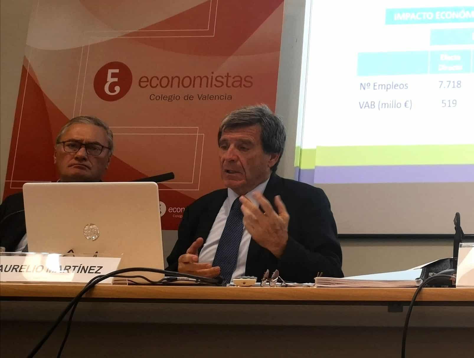 La ampliación del puerto de Valencia generará 14.453 nuevos empleos, según su presidente
