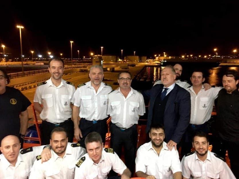 Confinados en el puerto de Algeciras