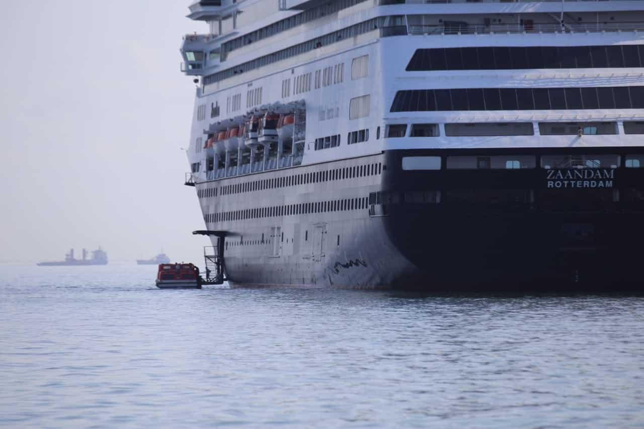 La Autoridad Marítima de Panamá presta auxilio al crucero Zaandam