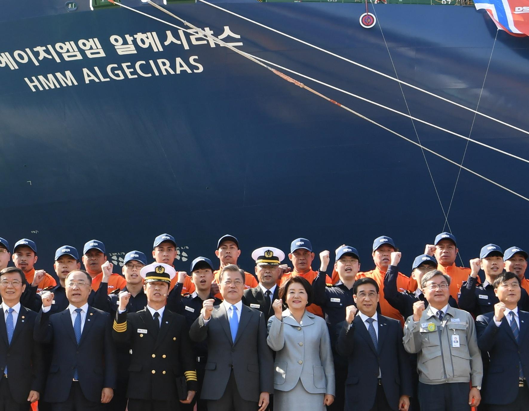 """Landaluce: """"La botadura del HMM Algeciras es una gran noticia para el puerto, la ciudad y la comunidad portuaria"""""""