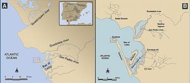 Identifican en Cádiz los restos de un puerto fenicio-púnico y romano frente a La Caleta