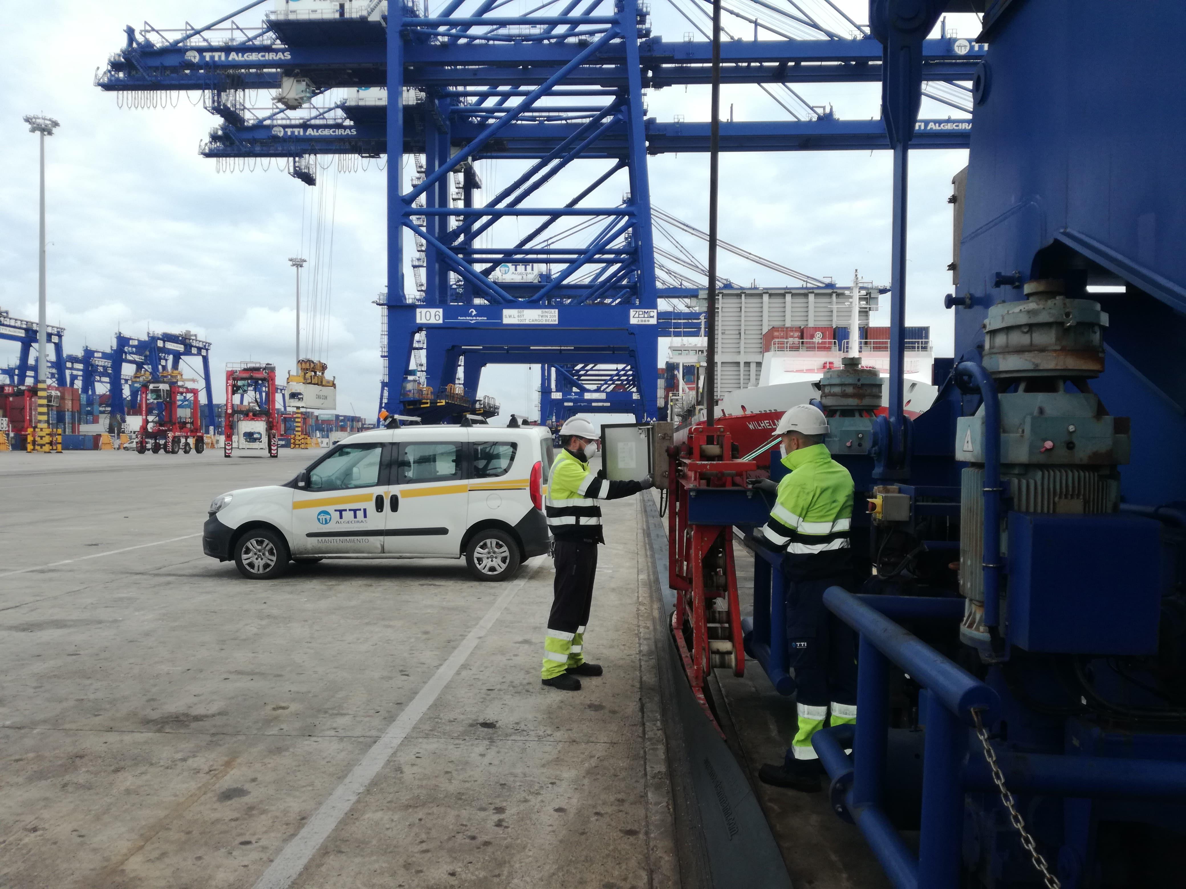 TTI Algeciras detalla las medidas adoptadas en la prevención del COVID-19