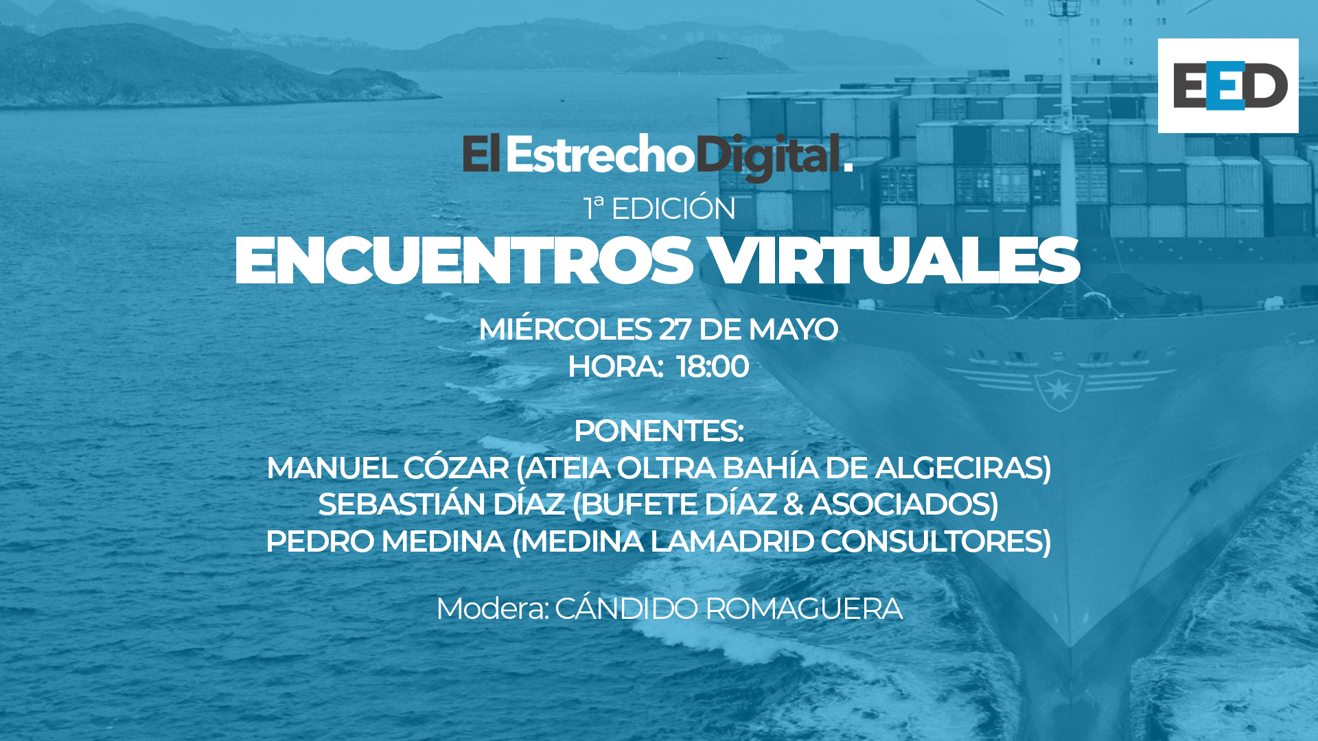 """""""Las empresas portuarias ante el COVID19"""""""