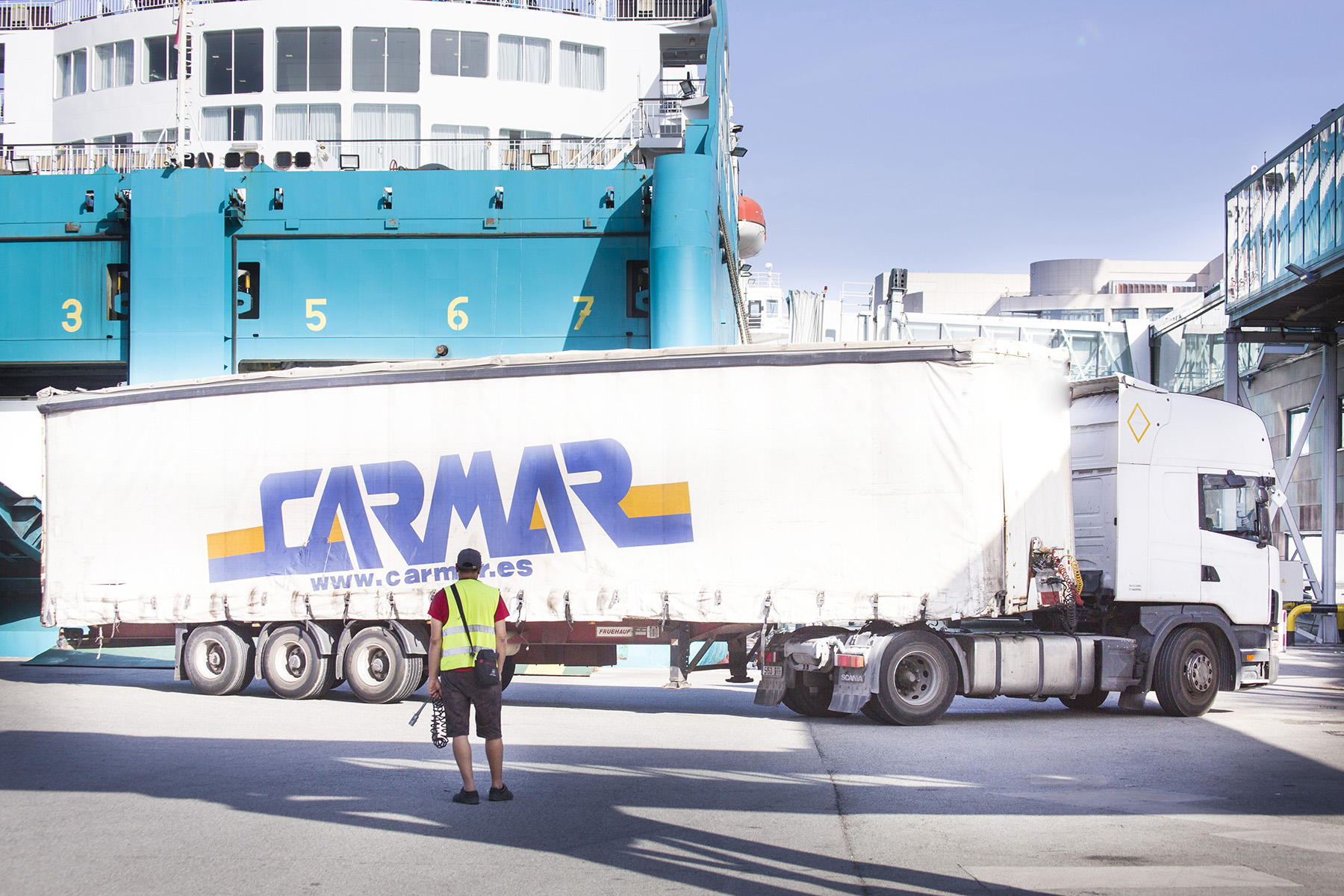 Carmar alcanza los 10 millones de kilos de mercancías movidas en los archipiélagos de Canarias y Baleares