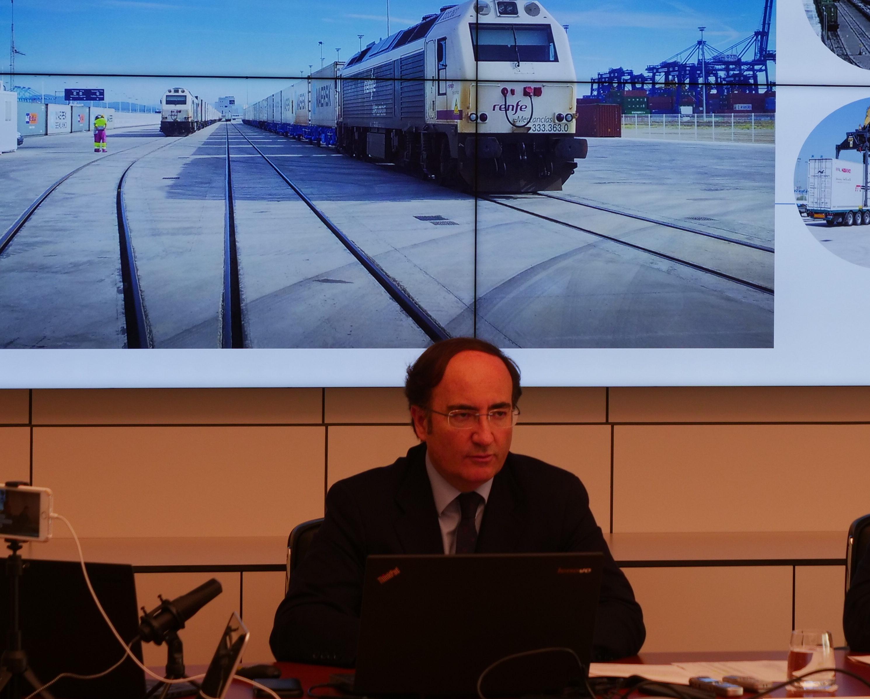 """El Presidente de la APBA pide que se priorice la inversión de la Algeciras-Bobadilla """"como garantía de éxito"""""""