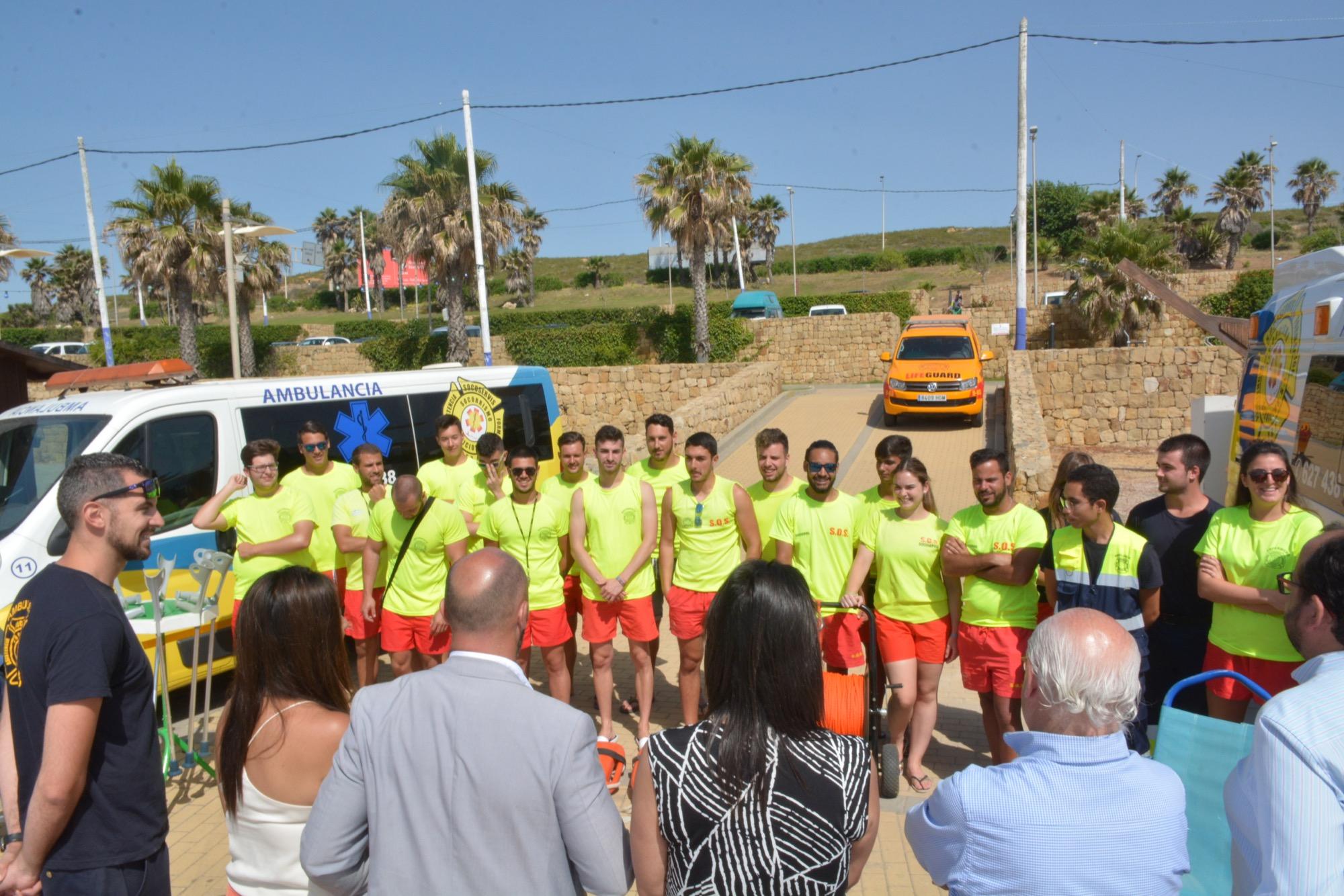 Comienza el servicio de socorrismo en las playas de San Roque