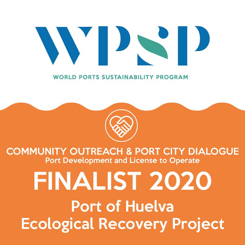 La Autoridad Portuaria de Huelva, finalista en los Premios de Sostenibilidad 2020 de la Asociación Internacional de Puertos y Costas (IAPH)