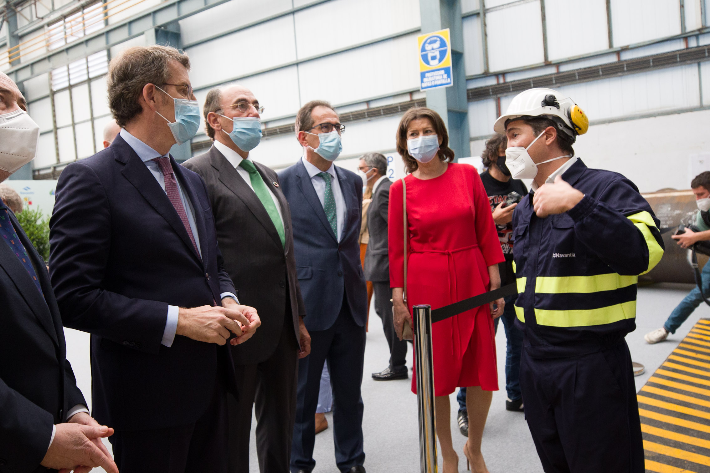 Destinan 350M€ a la construcción de 62 plataformas para aerogeneradores marinos en Navantia Fene para Iberdrola