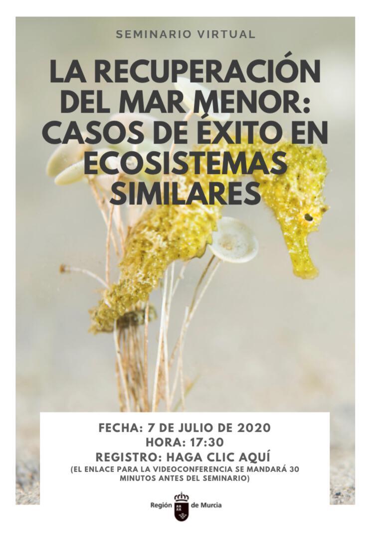 La recuperación del Mar Menor, eje de un seminario en el que participarán expertos internacionales