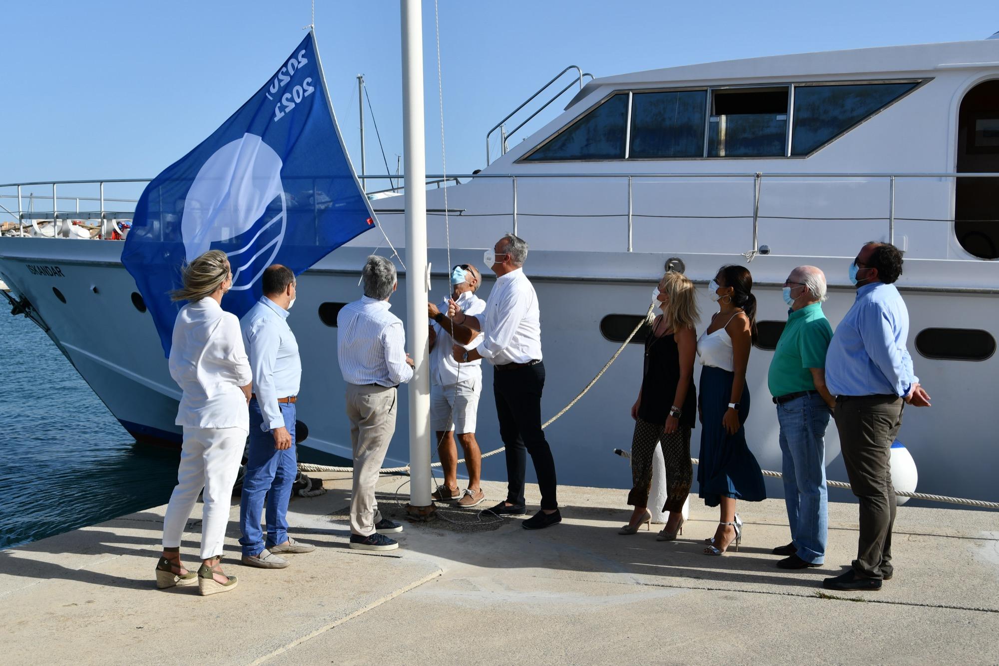Las banderas azules ya ondean en San Roque y La Línea