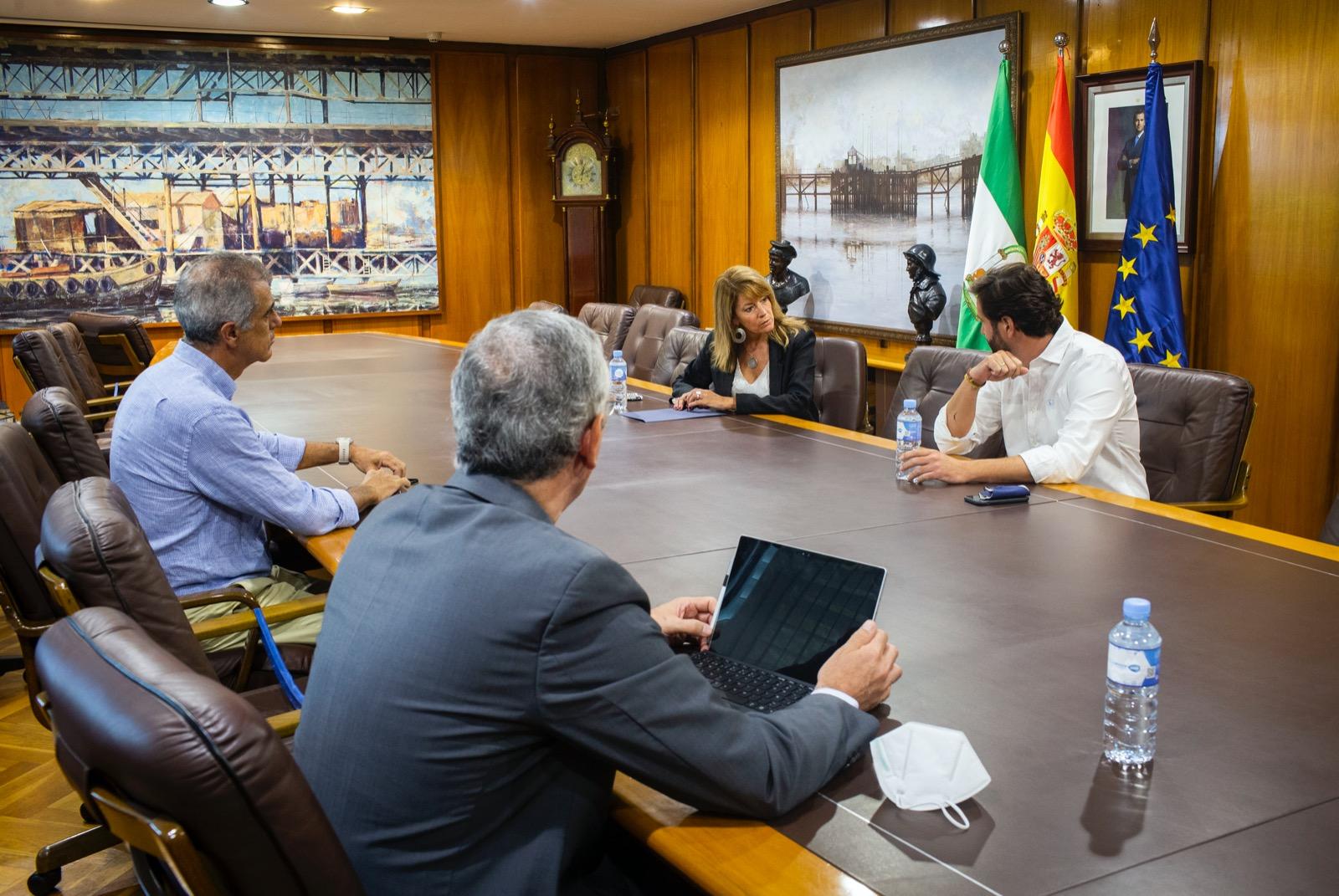 Autoridad Portuaria de Huelva y Cámara de Comercio impulsan líneas de colaboración conjunta
