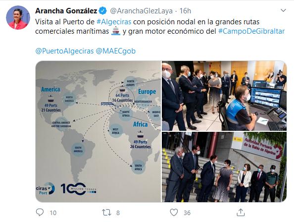 """Gerardo Landaluce: """"El puerto de Algeciras debe ser parte de la solución"""""""