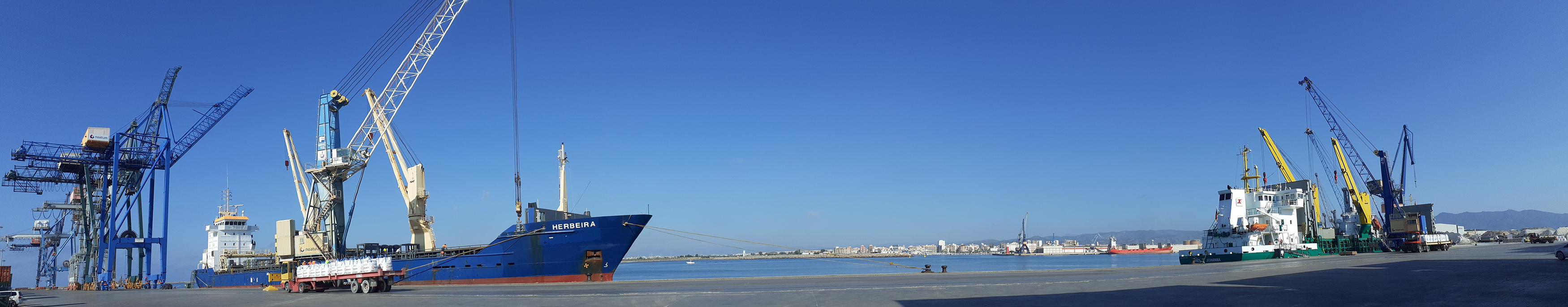 Marmedsa consolida su liderazgo en Argelia con la operación de tres buques de forma simultanea