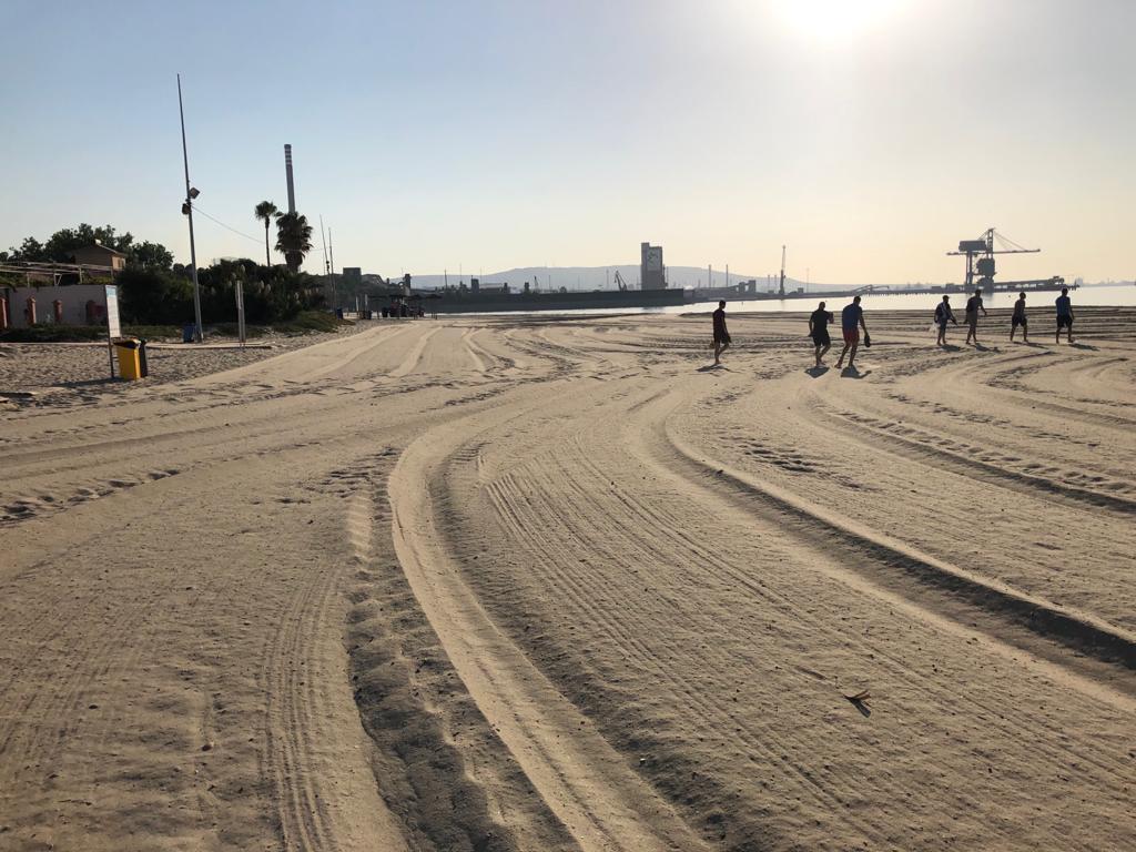 Palmones, una playa para disfrutarla