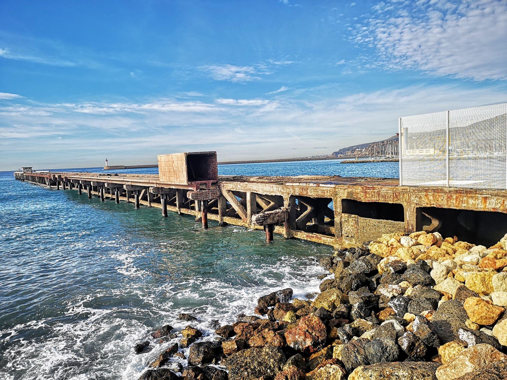 La Autoridad Portuaria de Almería licita la redacción del proyecto de ampliación del Muelle de Levante