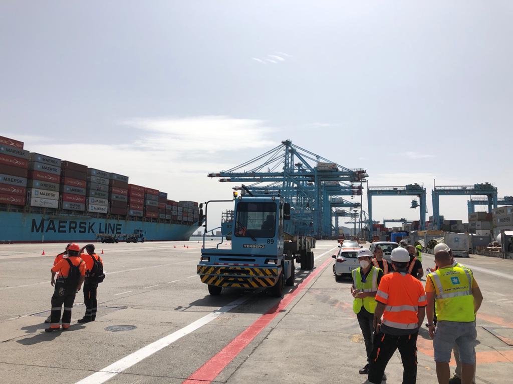 El Maersk Pittsburgh cumplirá una cuarentena hasta el 30 de septiembre
