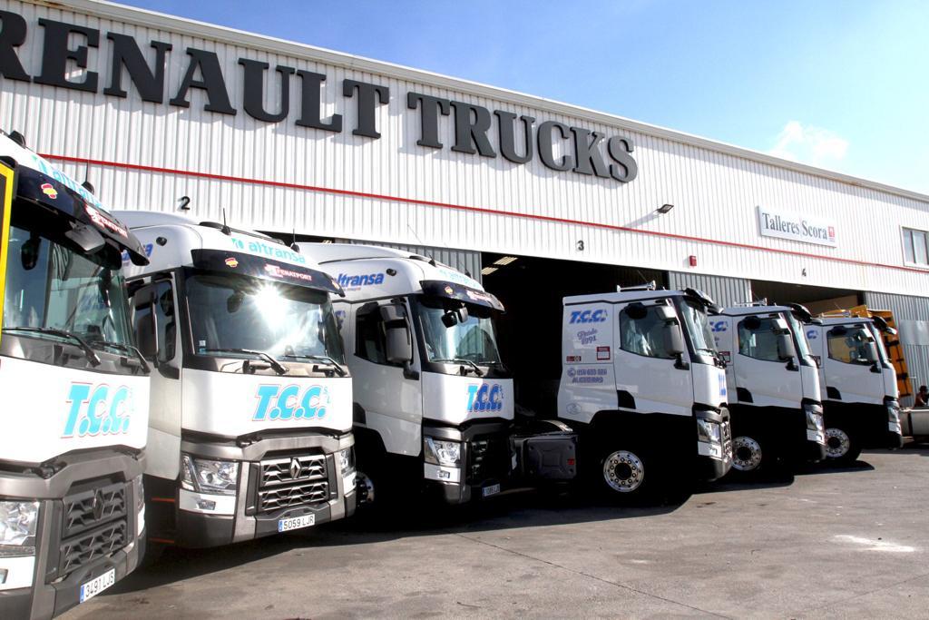 Altransa incorpora seis nuevos camiones a su flota